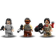LEGO STAR WARS BAZE MALBUS REBEL TROOPER & AT-ST PILOT ROGUE ONE FROM SET 75153