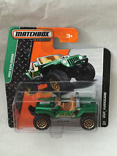MATCHBOX JEEP HURRICANE 64/120 NEU NEW OVP SHORT CARD