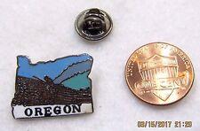 Oregon Logging Logs Timber State Travel USA Lapel Pin Pinback