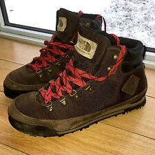 The North Face Men's Boots US 10 Brown Pre-owned Hiking Outdoors Climbing Prima