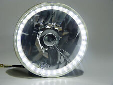 7 Inch Round Headlights with SMD Halo Ring Fits 6014, H6024, 6012/6014/6015 etc