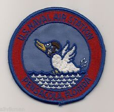 USN NAS PENSACOLA FLORIDA 1970s era patch NAVAL AIR STATION