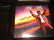 Clarence Clemons & Jackson Browne ; You're a Friend Of Mine  on 45 + Pic Sleeve