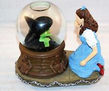 San Francisco Music Box Co Wizard of Oz Waterglobe Dorothy and Witch In Globe