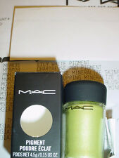 MAC PIGMENT -  CHARTREUSE PRO COLOR. **MUST SEE!!  SPRING/SUMMER! NIB