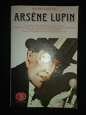 Maurice Leblanc- intégrale Arsène Lupin - tome 3 - collection Bouquin  Laffont