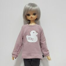 bjd msd 1/4 doll clothes, Top t-shirts Korean letter duck