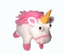 MINION STYLE UNICORN, STOCKING FILLER KNITTING PATTERN, CHILD SAFE