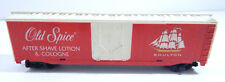 Tyco Plug Door Box Car Old Spice Shulton HO Scale Train Car