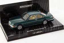 Bentley Continental R Baujahr 1996 grün metallic 1:43 Minichamps