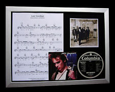 JEFF BUCKLEY Last Goodbye LTD GALLERY QUALITY CD FRAMED DISPLAY+FAST GLOBAL SHIP