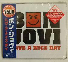 Bon Jovi Have A Nice Day CD-Single Japon 2005