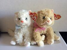 Ty Beanie Baby Cats MUFF and PLUFF