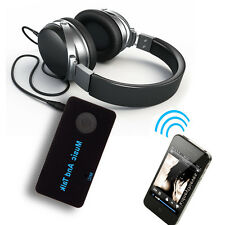 3.5mm Bluetooth Wireless Stereo AUX Audio Music Speaker Receiver Adapter Mic Box