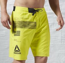NEW TAGS Men's Reebok CrossFit 2 In 1 Speed Board Workout Shorts Sliders Large
