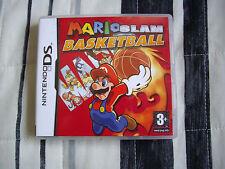 Mario Slam Basketball - Nintendo DS - Edicion España - Completo - Gran estado