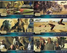 STAR WARS EPISODE 1 WIDEVISION 1999 TOPPS U PICK SINGLE EXPANSION INSERT CARDS