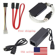 Durable IDE SATA to USB2.0 Adapter Converter Cable for 2.5/3.5Inch Hard Drive OU