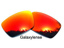 Galaxy Replacement Lenses For Oakley Fuel Cell Fire Red Color Polarized 100%UVAB