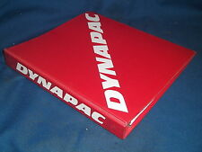 DYNAPAC CP-271B PNEAUMATIC TIRE ROLLER PARTS CATALOG BOOK MANUAL