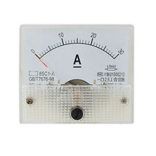 85C1 Analog Current Panel Meter DC 30A AMP Ammeter CT