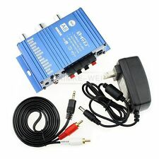 Mini Hi-Fi Amplifier for Cars Motorcycle Home Stereo 12V