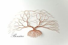 NEW-Contemporary Metal Wall Art-Decor Sculpture,Modern Luxury Cedar Tree23''x14""