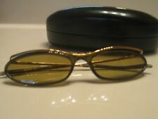 GUCCI GREEN BROWN GOLD SUNGLASSES GG2613/S WITH CASE EUC