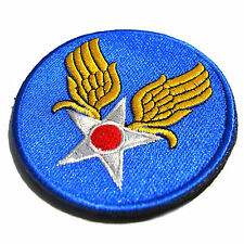 USA Retro WW2 WWII U.S. ARMY AIR FORCE USAAF EMBROIDERED Hook & Loop PATCH