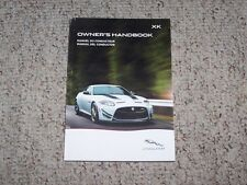 2014 Jaguar XK Owner Operator User Manual XKR XKR-S Touring Coupe Convertible