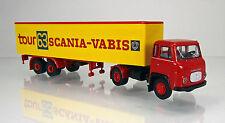 """Brekina 85156 Scania LB 76 Koffer-SZ """"Scania Tour 63"""""""
