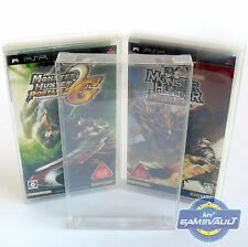 10 x giapponese PLAYSTATION PSP GAME BOX Protettore 0.4mm PET Plastica Display Custodia