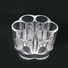 Clear Acrylic Makeup Cosmetic Organizer Lipstick Brush Storage Holder Case Stand