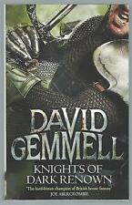 Knights Of Dark Renown David Gemmell Orbit 2014 Paperback Edition Good Condition