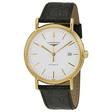 Longines Presence White Dial Automatic Mens Watch L49212122