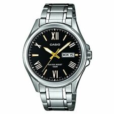 Casio MTP-1377D-1AVEF Collection Silver Steel Bracelet Watch