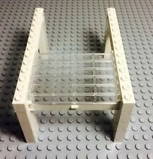 Lego City New White Garage Building Door W/ Trans-clear Roller & White Handle X1