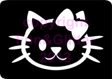 FG043 - 5 x PARTY KITTEN STENCIL for Glitter and Ink Tattoo's