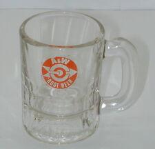 R1846 A&W Root Beer Mini Mug Bullseye  Used A&W Root Beer Mini Mug Bullseye  Goo
