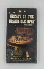 GREATS OF THE GRAND OLE OPRY VOLUME 1 VHS TRAIN SONGS BOXCAR WILLIE HOST
