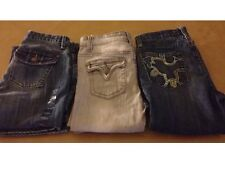 NWT Lot (3) Gap and Vigoss Girls Jeans Size 14 Dark Blue and Stone Wash Jean New