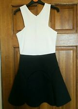 Black and Cream Dress by Daisy Street ~ Size 6 ~ RRP £28