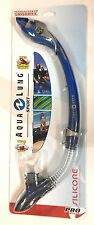 Aqua Lung Sport Paradise Dry LX Snorkel in Electric Blue 1001393