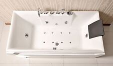 New Jetted Whirlpool Hydrotherapy Bathtub Bath Tub  Radio Chromatherapy by Kokss