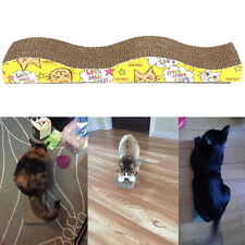 New Cat Kitten Scratching Corrugated board Scratcher Post Pole Bed Pad Toy EX
