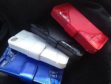 Crocodile Flip Leather Credit Card Holder Wallet Pouch Case Cover For iPhone5 5S