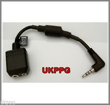 2 to 1 Aviation Headset Adaptor Plug For Vertex & Yaesu