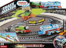 Fisher-Price Thomas the Train Track Master Thomas & Percy's Railway Race Set NEW