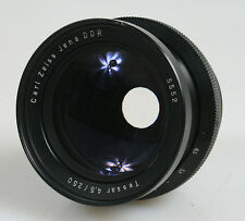 250MM F 4.5 CARL ZEISS JENA DDR TESSAR LARG FORMAT LENS (PARTS)