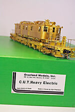 OMI 2-Rail Brass O Scale Cleveland Union Terminal Heavy Electric  C.U.T.